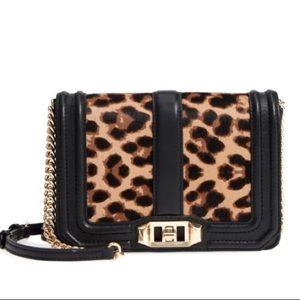 Rebecca Minkoff Leopard small love bag